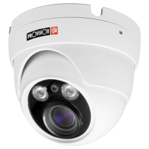 מצלמת כיפה 4MP ממונעת זום, טווח אינפרא אדום: 40 מטר בחושך
